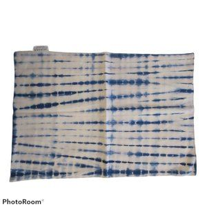 *set of x3* ZODAX placemats tie dye blue NWOT